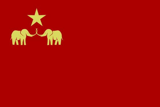Rotkijanibonde Flagge